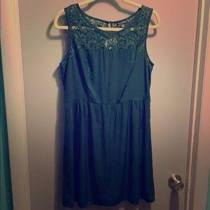 AEO Green Lace Dress